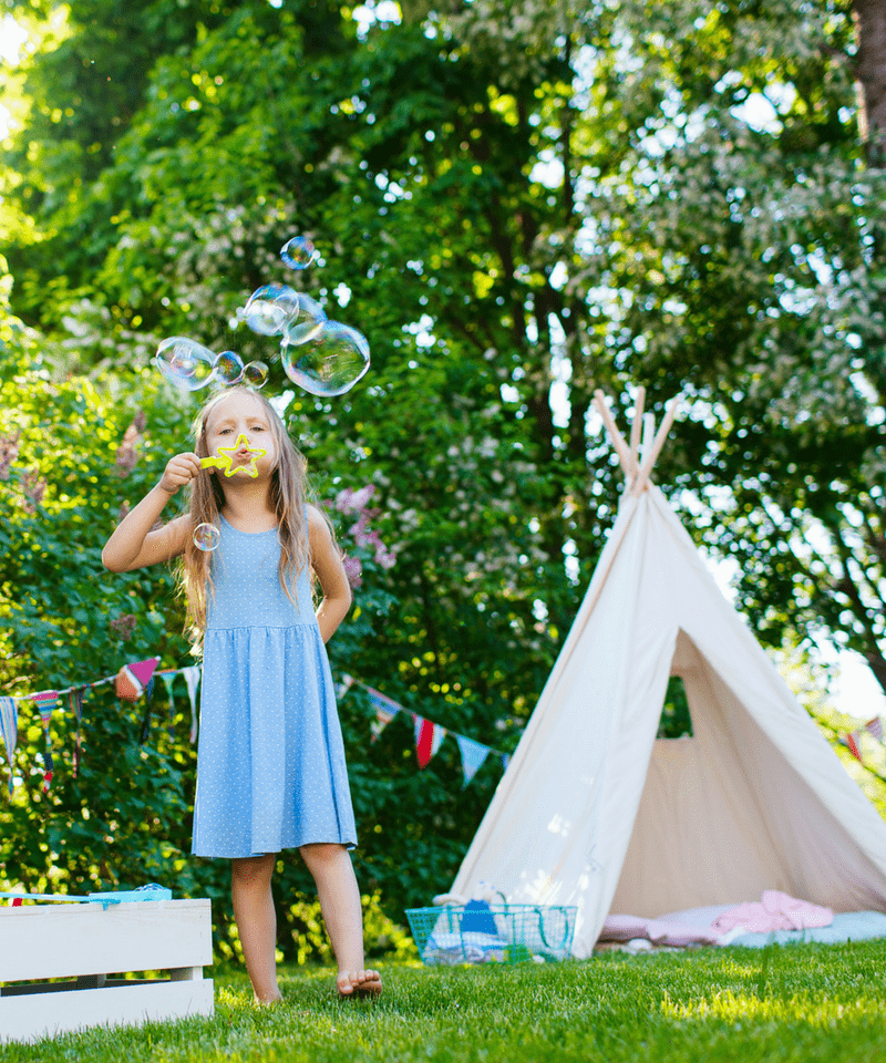 Summer Outdoor Fun Bucket List for Young Kids