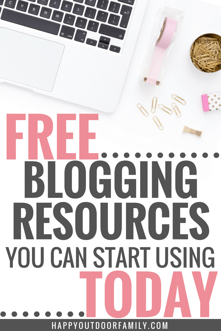 Free Blogging Resources You Can Start Using Today