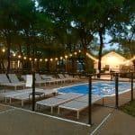 Pool Gathering Oaks Retreat