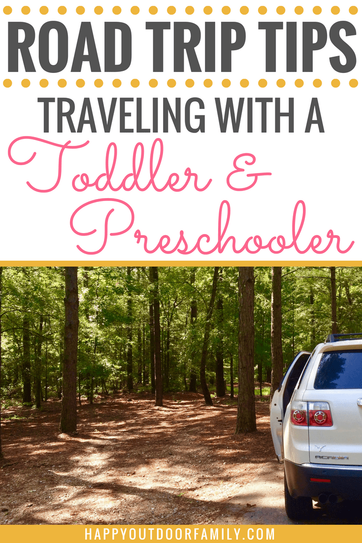 Road Trip Tips Traveling with a Toddler & Preschooler