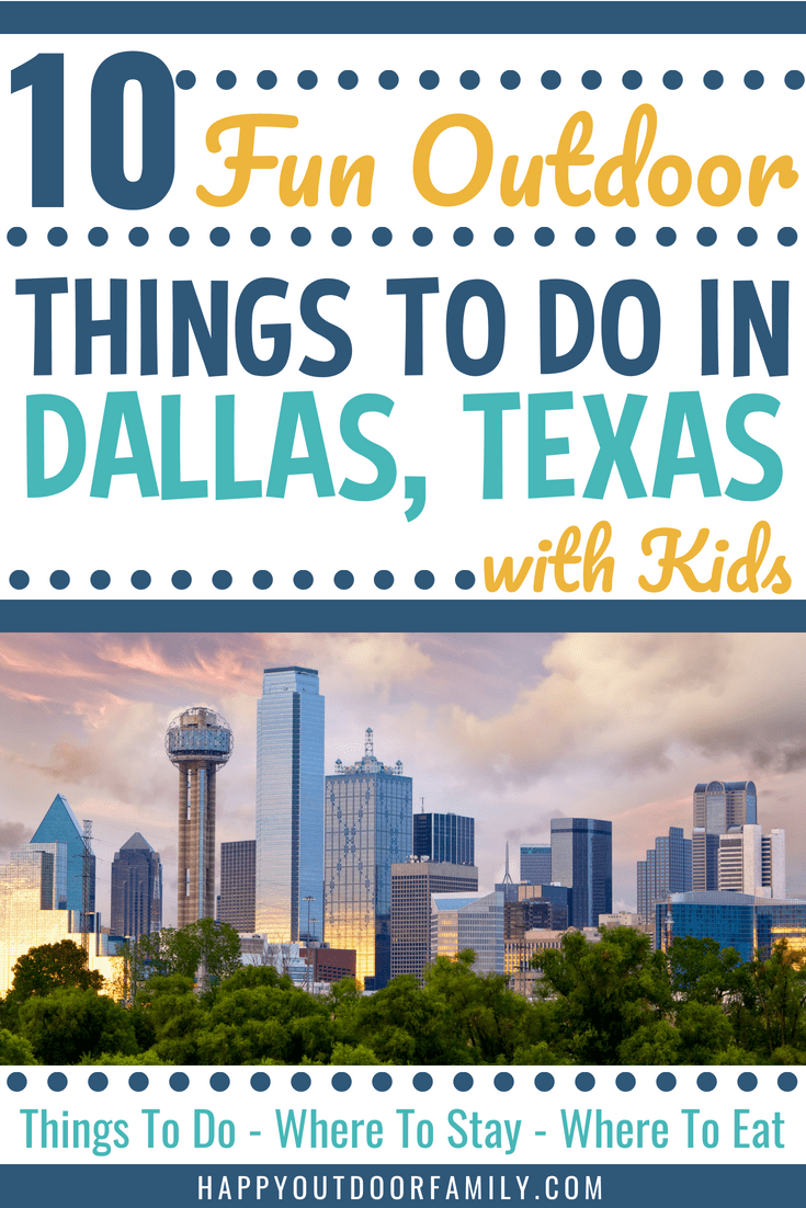 10 Fun Outdoor Things To Do in Dallas with Kids #dallastx #dallastexas #dallas #thingstodowithkidsindallas #thingstodoindallas