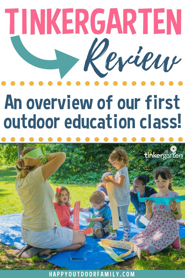 Tinkergarten Review #Tinkergarten #Tinkergartenreview #outdooreducation #outdoorplay #outdooractivitiesforkids